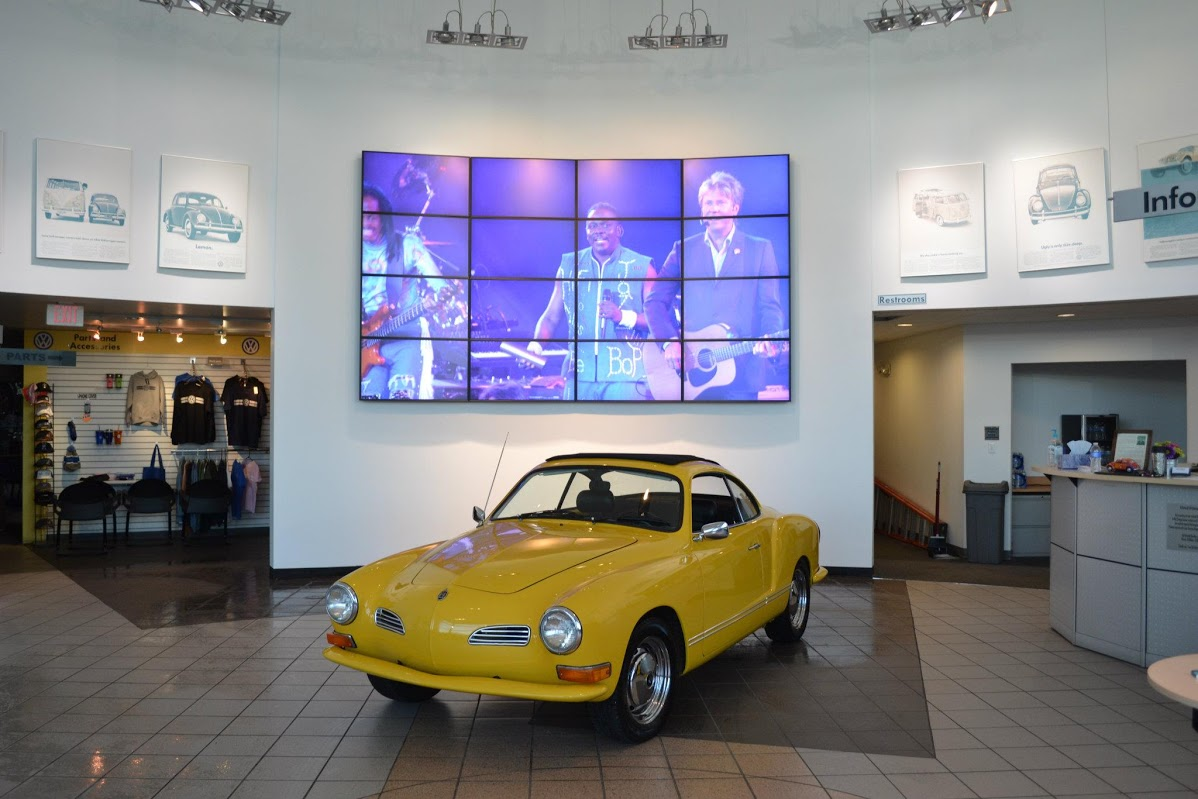 Volkswagen in Perrysburg Video Wall